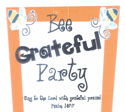 Childrens Church Stuff <i>Bee Grateful Day</i> Extreme Party Plan (Download)