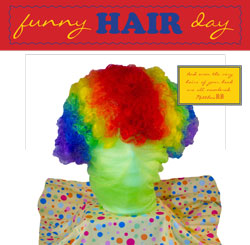 Childrens Church Stuff Funny Hair Day Extreme Party Plan (Download)