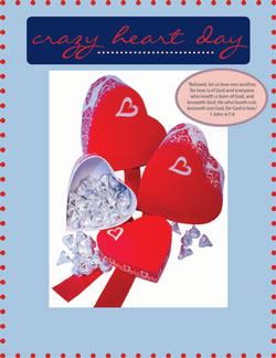 Childrens Church Stuff Crazy Heart Day  Extreme Party Plan (Download)
