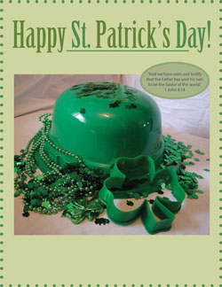 Childrens Church Stuff St. Patrick's Day Extreme Party Plan (Download)