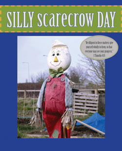 Childrens Church Stuff <i>Silly Scarecrow Day</i> Extreme Party Plan (Download)