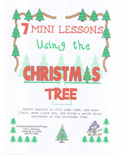 Childrens Church Stuff Christmas Tree Object Lessons  (Download)