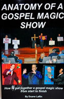 Laflin's<i> Anatomy of a Gospel Magic Show</i> Downloadable Book