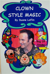 Laflin's Clown Style Magic  Downloadable Book