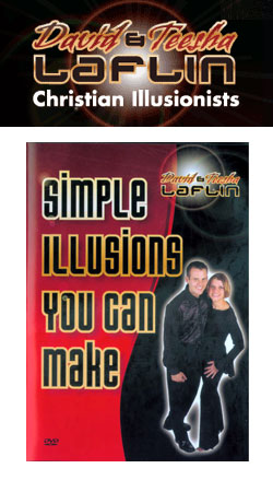 David and Teesha Laflin's Simple Illusions You Can Make DVD