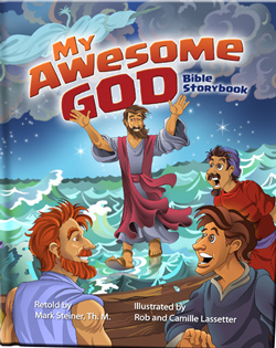 DiscipleLand My Awesome God - Bible Storybook