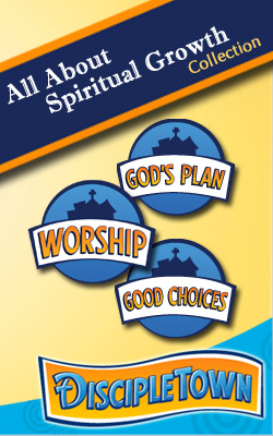 <i>DiscipleTown</i> All About Spiritual Growth 3-Pack Collection