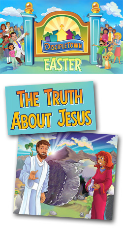 The Truth About Jesus Single Lesson from DiscipleLand