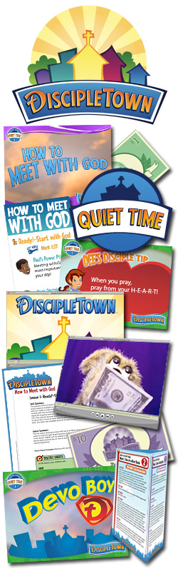 <i>DiscipleTown</i> Kids Church Unit #12: How to Meet with God