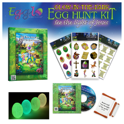 Egglo Glow-in-the-Dark Egg Hunt Kit