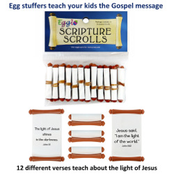 Egglo Scripture Scroll (4 Packs of 12)