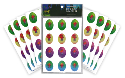 Egglo Easter Stickers (96-Pack)