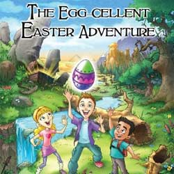 <i>The Egg-cellent Easter Adventure</i> Book