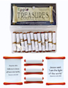 Egglo <i>Treasures Scripture Scroll</i> (4 Packs of 12)