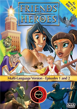 Friends and Heroes DVD Episodes 1 and 2
