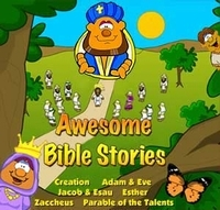 Awesome Bible Stories CD-rom