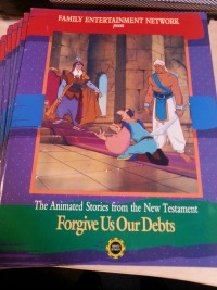 The Animated Stories of the New Testament Activity Books