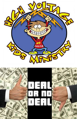 High Voltage Kids Ministry Deal or No Deal Kids Church Download