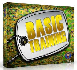 High Voltage Kids Ministry <i>Basic Training</i> Curriculum Pack