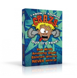 High Voltage Kids Ministry <i>I Know It Sounds Crazy But It's True!</i> Curriculum Download