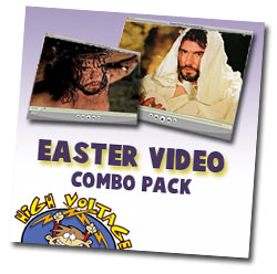 High Voltage Kids Ministry Easter Video Combo