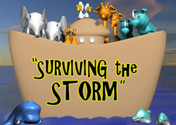High Voltage Kids Ministry <i>Surviving the Storm</i> Curriculum Download