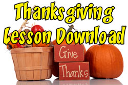 High Voltage Kids Ministry Give Thanks Curriculum Download