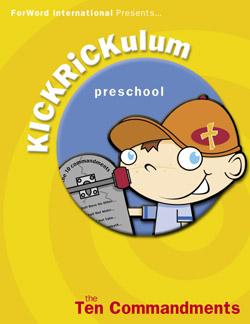 KICKRiCKulum The Ten Commandments Kids' Church Curriculum (Preschool Download)