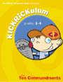 KICKRiCKulum <i>The Ten Commandments</i> Kids' Church Curriculum (Preschool Download)