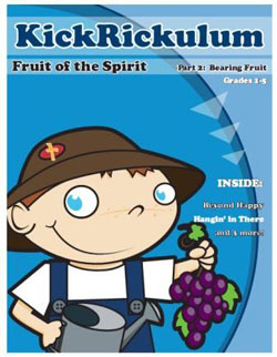 KICKRiCKulum Fruit of the Spirit 2 - Bearing Fruit Kids' Church Curriculum (Elementary Download)