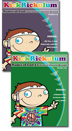 KickRickulum <i>Names of God </i> Curriculum Pack Download