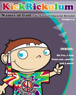 KickRickulum Names of God 1 Curriculum Download