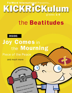 KICKRiCKulum <i>The Beatitudes</i> Kids' Church Curriculum (Elementary Download)