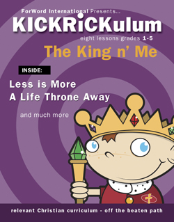 KICKRiCKulum King n' Me Elementary Kids' Church Curriculum (Elementary Download)