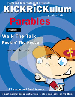 KICKRiCKulum The Parables Kids' Church Curriculum (Elementary Download)