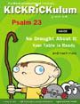 KICKRiCKulum <i>Psalm 23</i> Kids' Church Curriculum (Preschool Download)