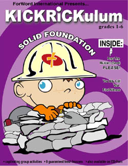 KICKRiCKulum Solid Foundation Elementary Kids' Church Curriculum (Elementary Download)