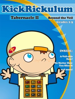KICKRICKulum <i>Tabernacle II Beyond the Veil</i> Elementary Kids' Church Curriculum (Elementary Download)