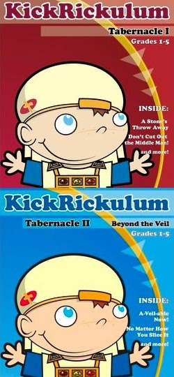 KICKRICKulum <i>Tabernacle Pack</i> Elementary Kids' Church Curriculum (Elementary Download)