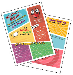 All About Me Kid Info PDF