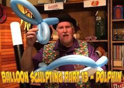 Balloon Sculpting with Pastor Brett - Part 13: Dolphin