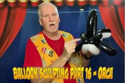 Balloon Sculpting with Pastor Brett - Part 16: Orca