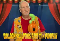 Balloon Sculpting with Pastor Brett - Part 17: Pumpkin