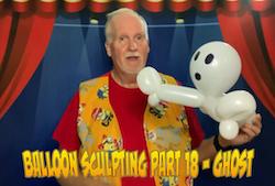 Balloon Sculpting with Pastor Brett - Part 18: Ghost