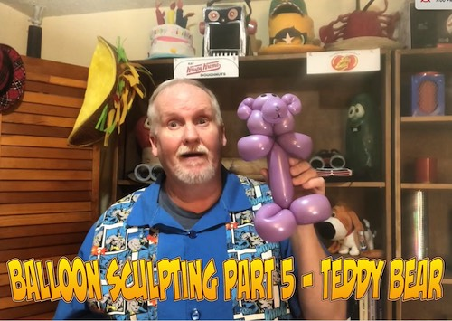 Balloon Sculpting with Pastor Brett - Part 05: Teddy Bear