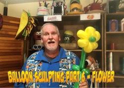 Balloon Sculpting with Pastor Brett: Video #06 - Basics Part 6: Flower