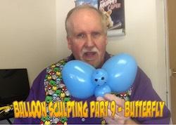 Balloon Sculpting with Pastor Brett - Part 9: Butterflies