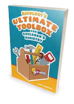 Kidology's Ultimate Toolbox for Children's Ministry - Print plus FREE Digital