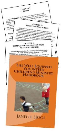The Well Equipped Volunteer Children's Ministry Handbook