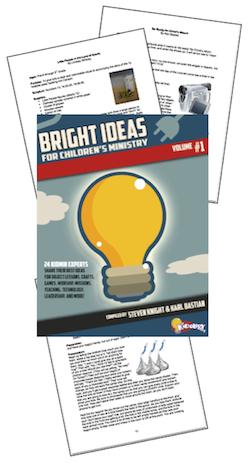 Bright Ideas for Children's Ministry - Volume 1
